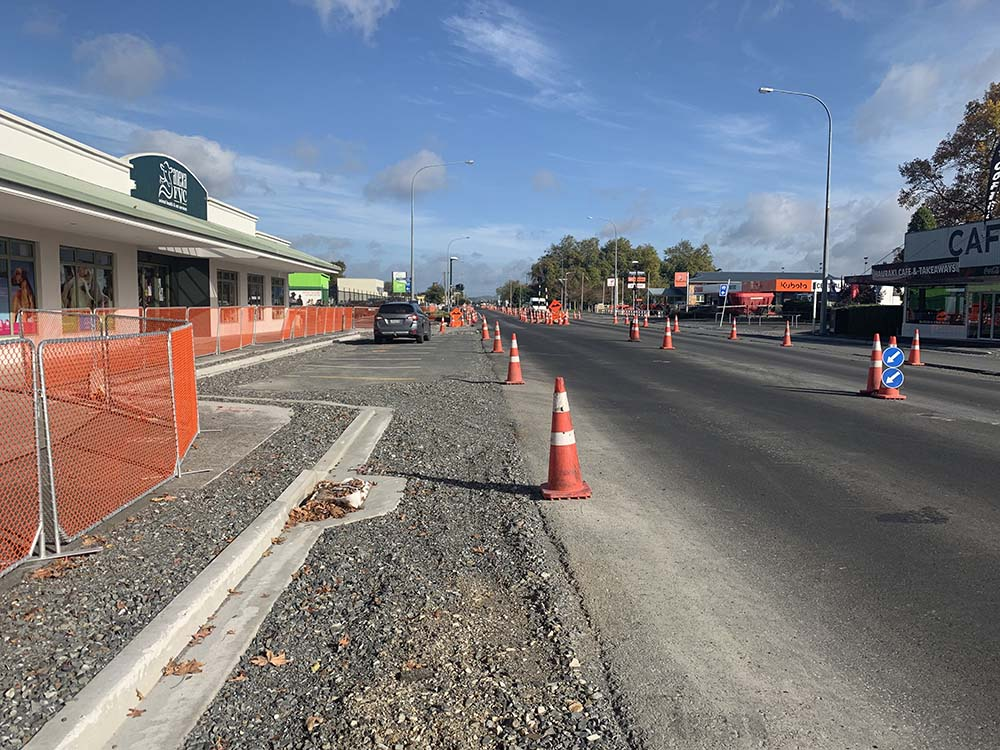 Read more about the article Ngatea roadworks resume but more delays expected