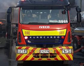 Read more about the article Woman injured in house fire