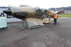Read more about the article Replica Hurricane flies into Thames