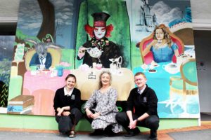 Read more about the article New mural brightens Ngatea's main street