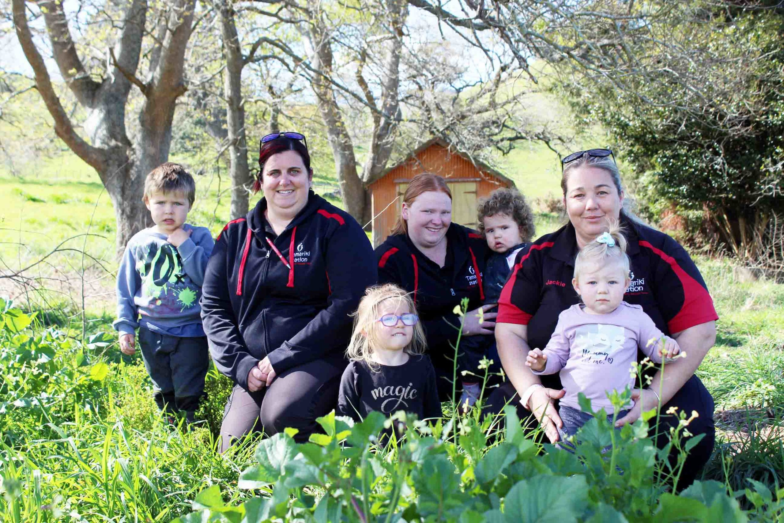 You are currently viewing Paeroa preschoolers get back to nature