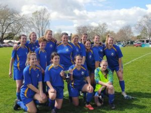 Read more about the article Newly-formed women's football team undefeated