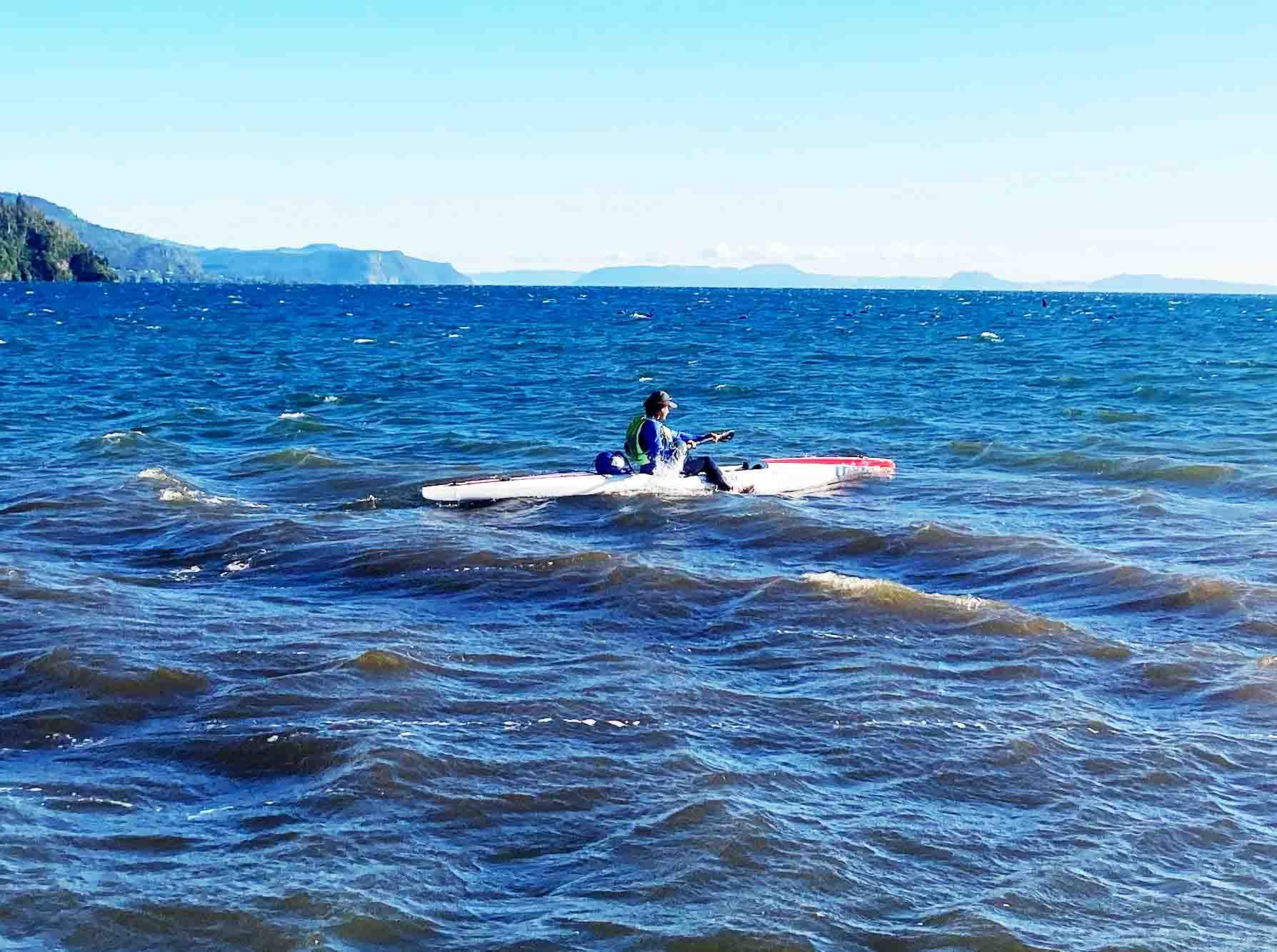 Read more about the article Paeroa man undertakes 100km kayak 'battle'