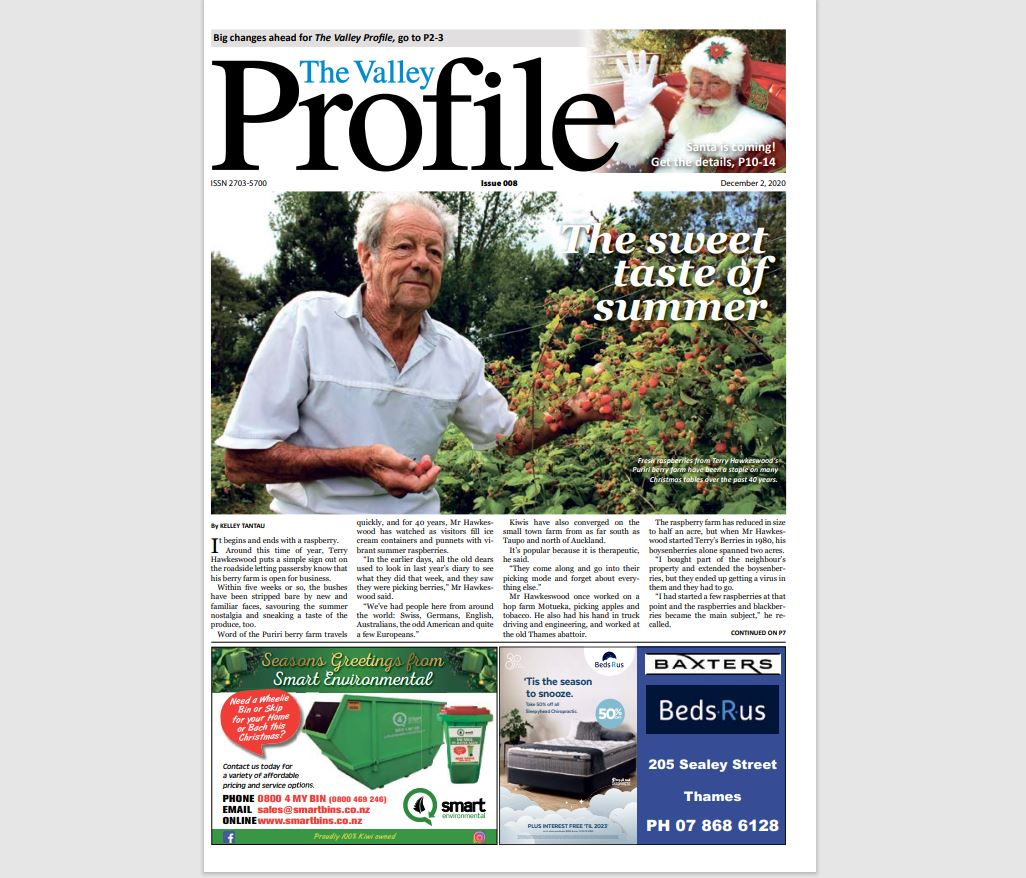 You are currently viewing Valley Profile now published fortnightly