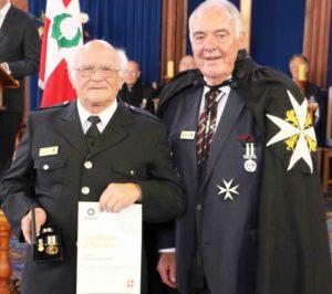 Read more about the article Long-serving Hauraki-Coromandel St John officers honoured