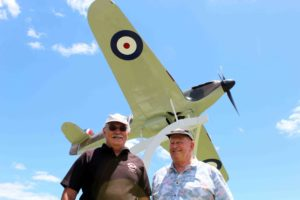Read more about the article Flying aficionados on field for Wings & Wheels