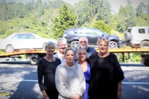 Read more about the article Gorge residents take road safety into own hands