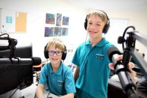 Read more about the article Students make waves with radio station