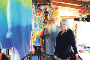 Read more about the article Tie-dye tees colour cancer campaign