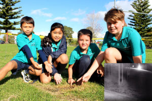 Read more about the article Fiery object hits school