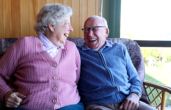 You are currently viewing Audrey and Bill celebrate 65 years in love