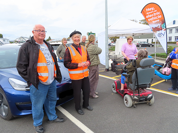You are currently viewing Electric vehicles on show at Thames expo