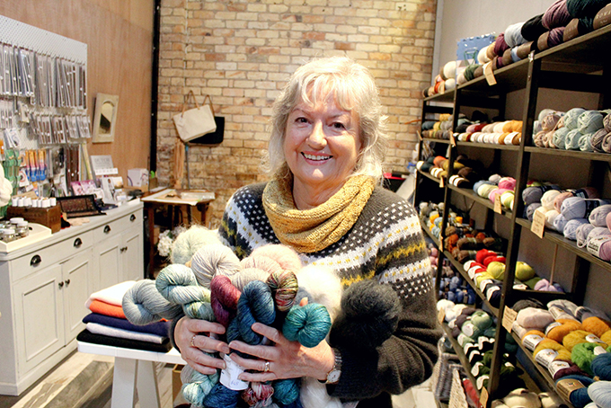 Read more about the article Emphasis on good wool at Good Yarn Store