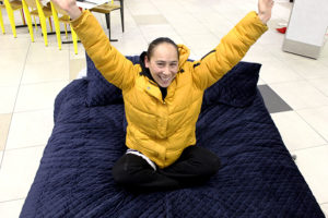 Read more about the article Joeleen sleeps through contest – and wins