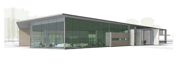You are currently viewing New library building preferred