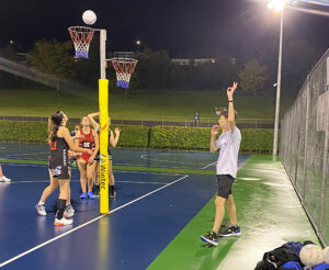 Read more about the article Netball umpiring appeared 'out of the blue' for Reefe
