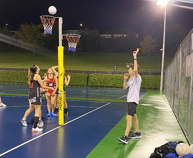You are currently viewing Netball umpiring appeared 'out of the blue' for Reefe